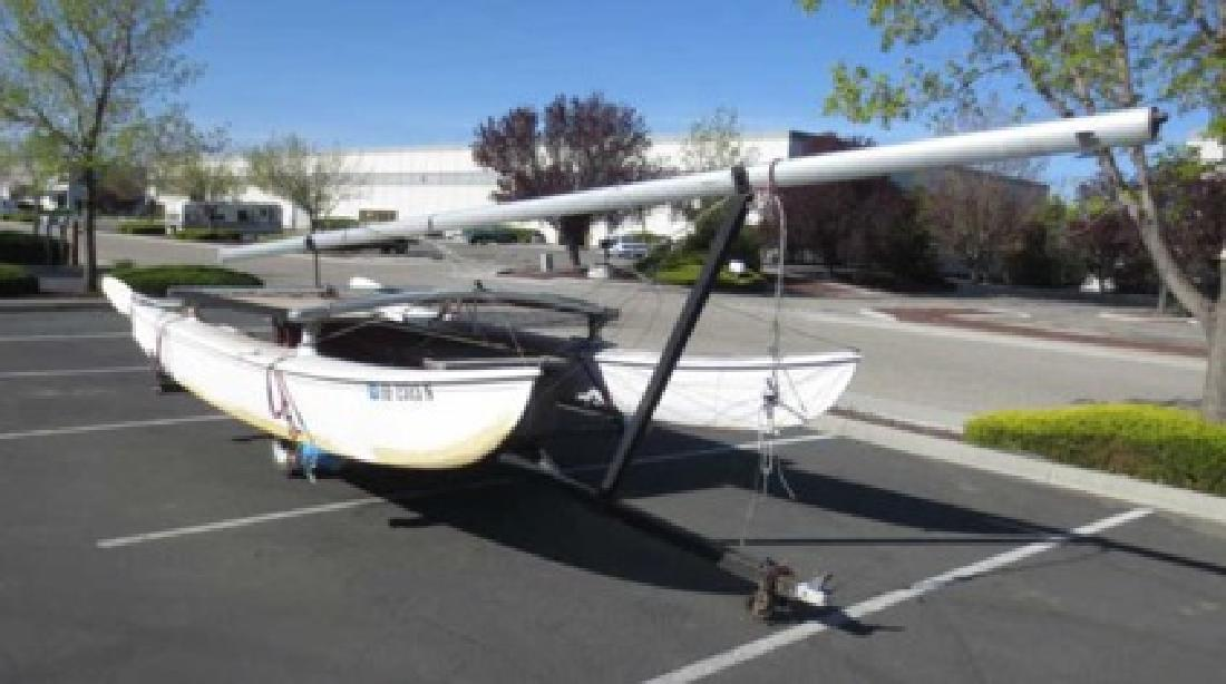 $1 OBO Hobie 16ft Catamaran Sailboat & Other Watercraft