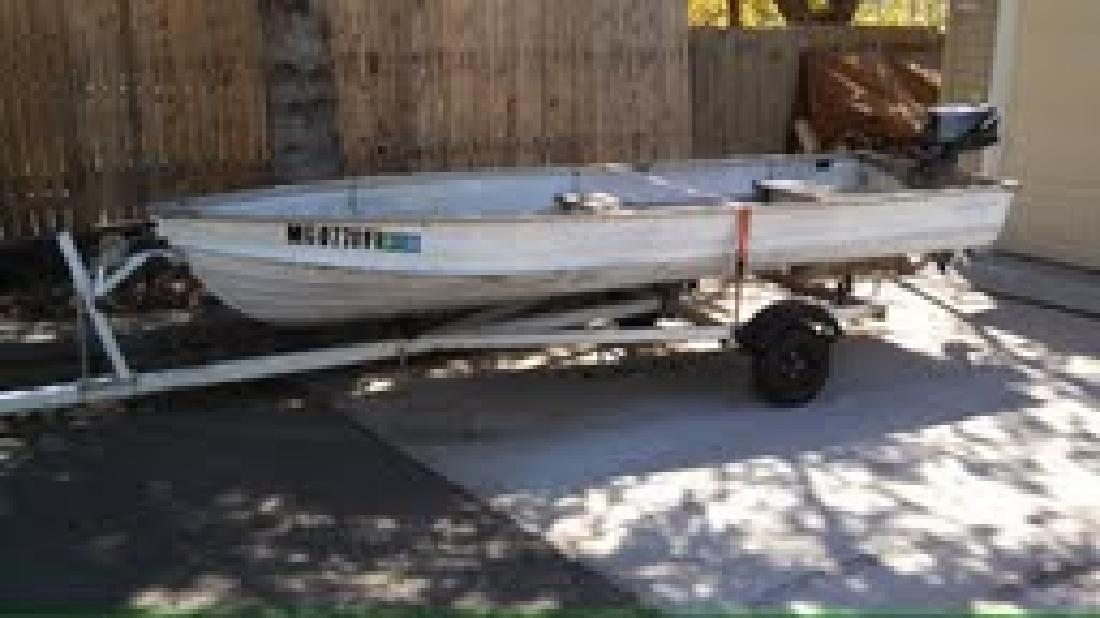 $1,000 OBO Boat, motor, trailer and more
