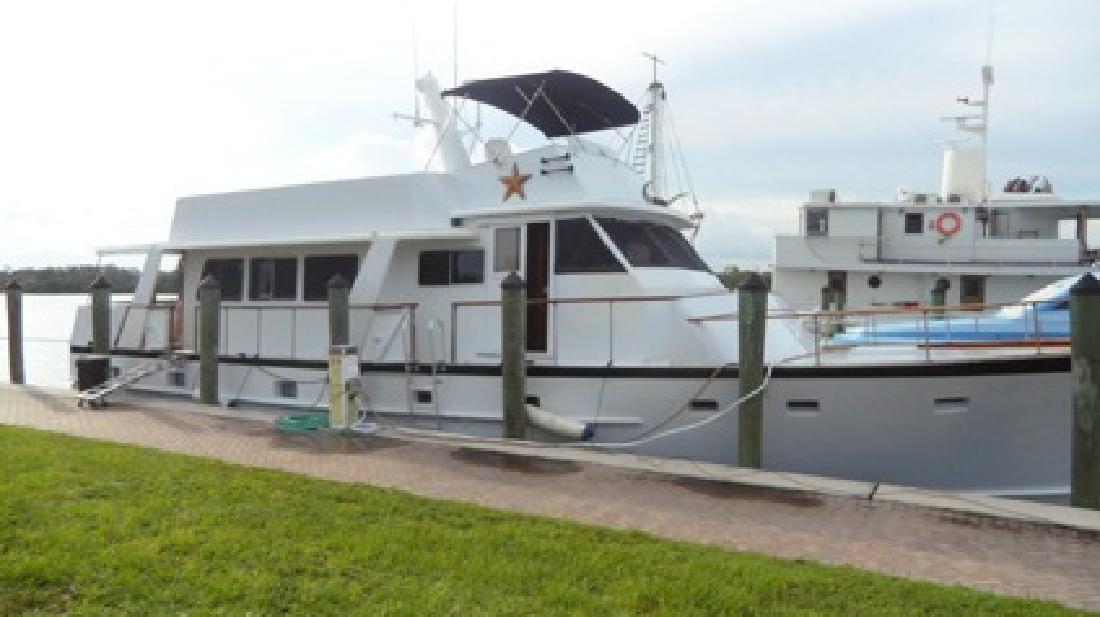 $125,000 Classic 63 foot pilothouse trawler, Krogen designed