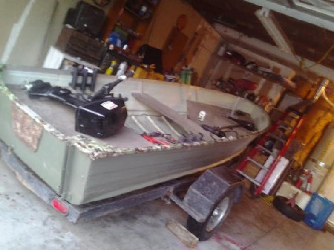 $1,650 OBO 14 ft aluminum boat