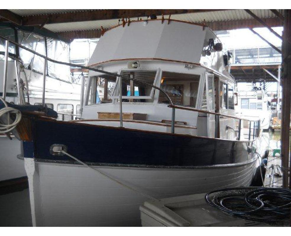 1966 36' Grand Banks Classic Trawler