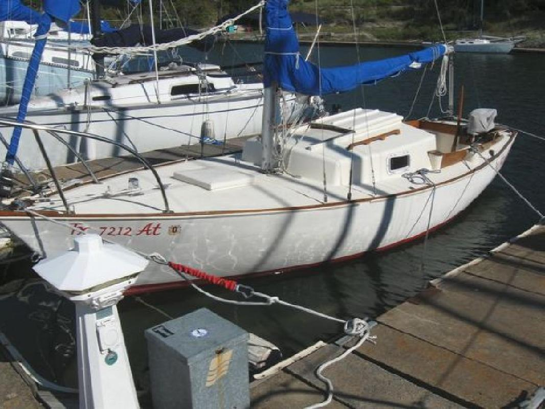 1976 22' Ryder Sea Sprite 23