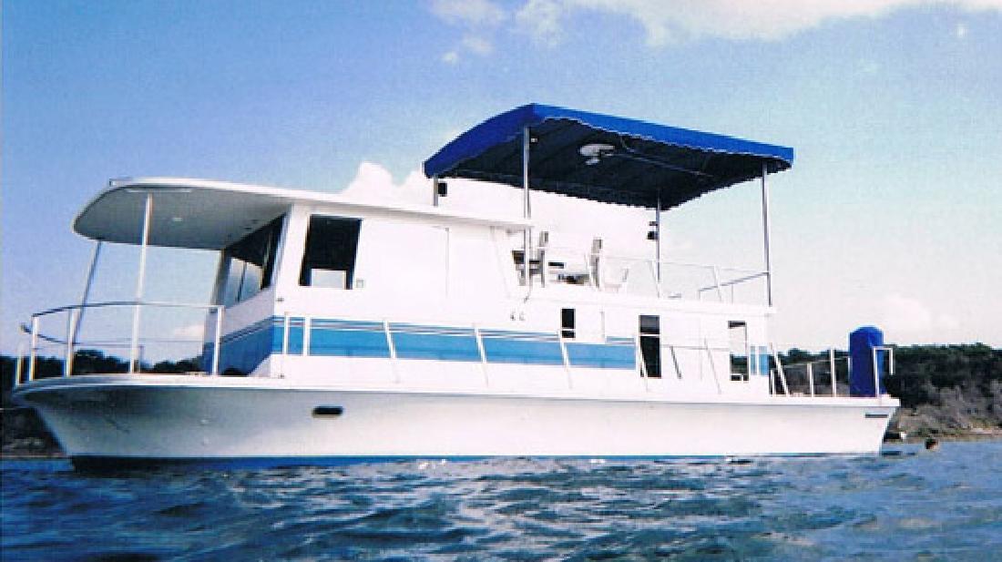1976 36' Silver Queen Houseboat