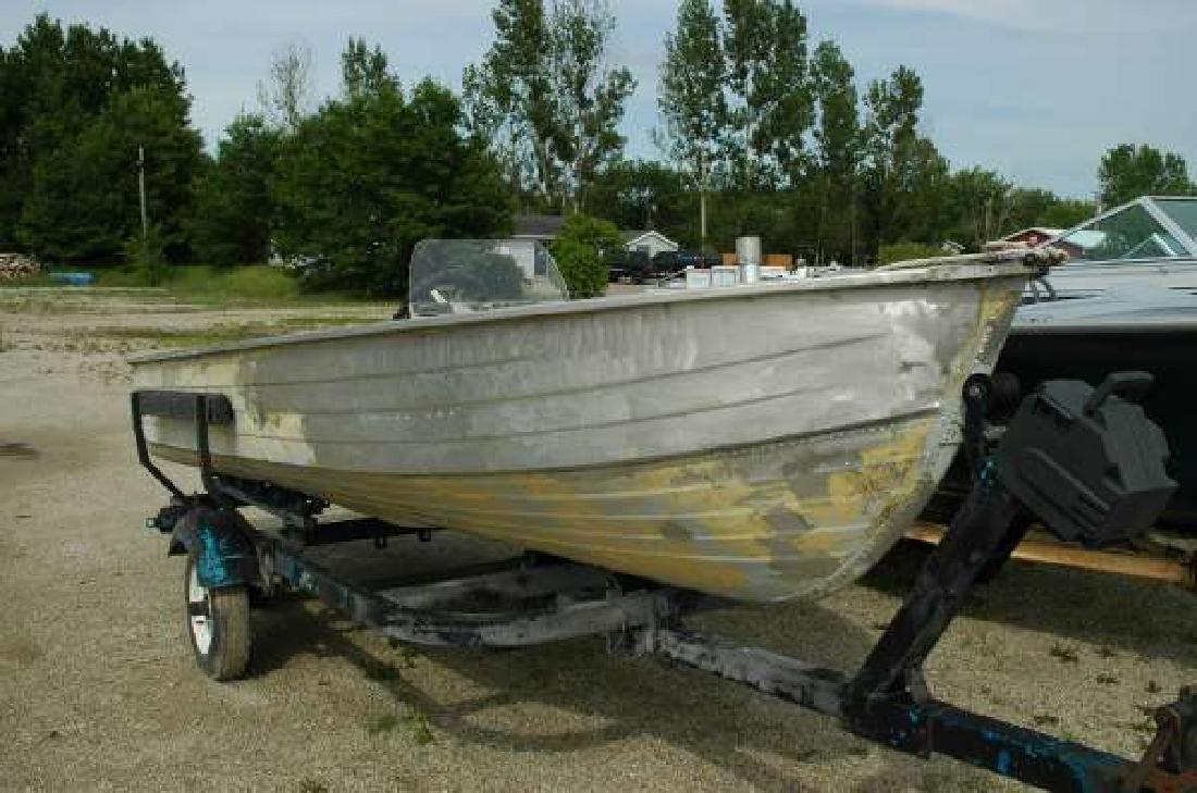 1977 MIRROCRAFT 1439 Fishing Boat with Trailer Wautoma WI