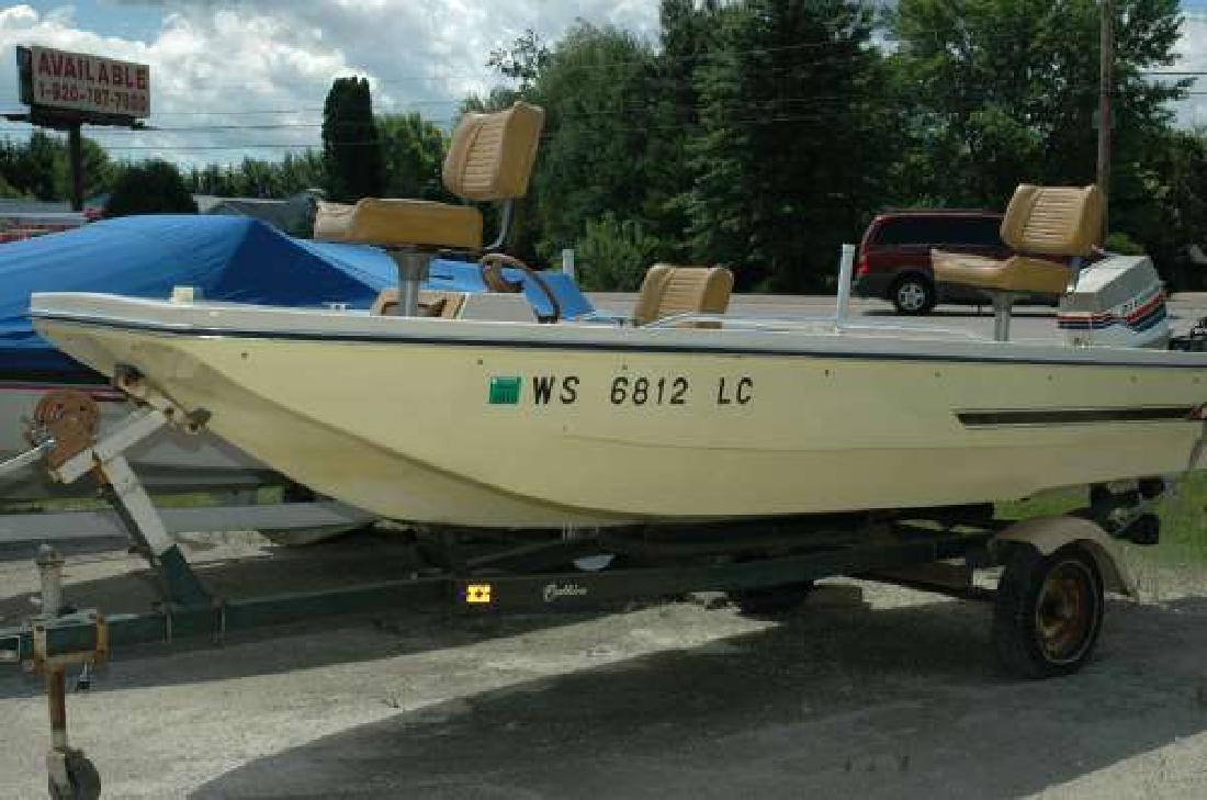 1977 SEA STAR 1539 Fiberglass Fishing Wautoma WI