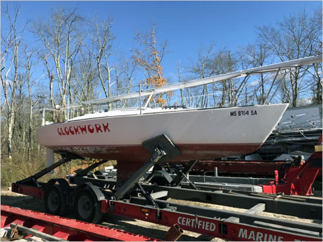 1981 - J Boats - J24 in Mendon, MA
