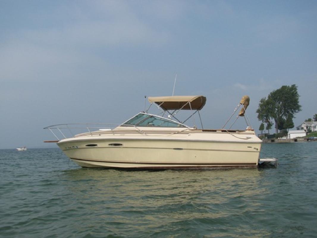 1984 25' Sea Ray Amberjack 255