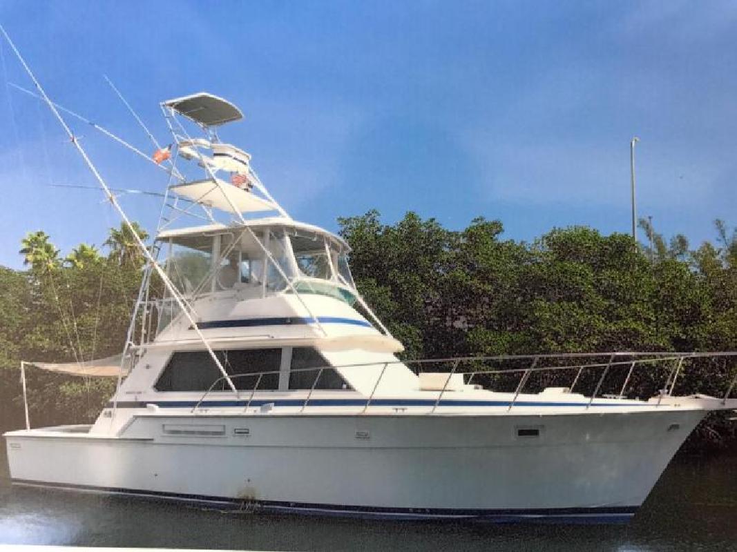1985 Bertram Yacht 42 Convertible Delray Beach FL