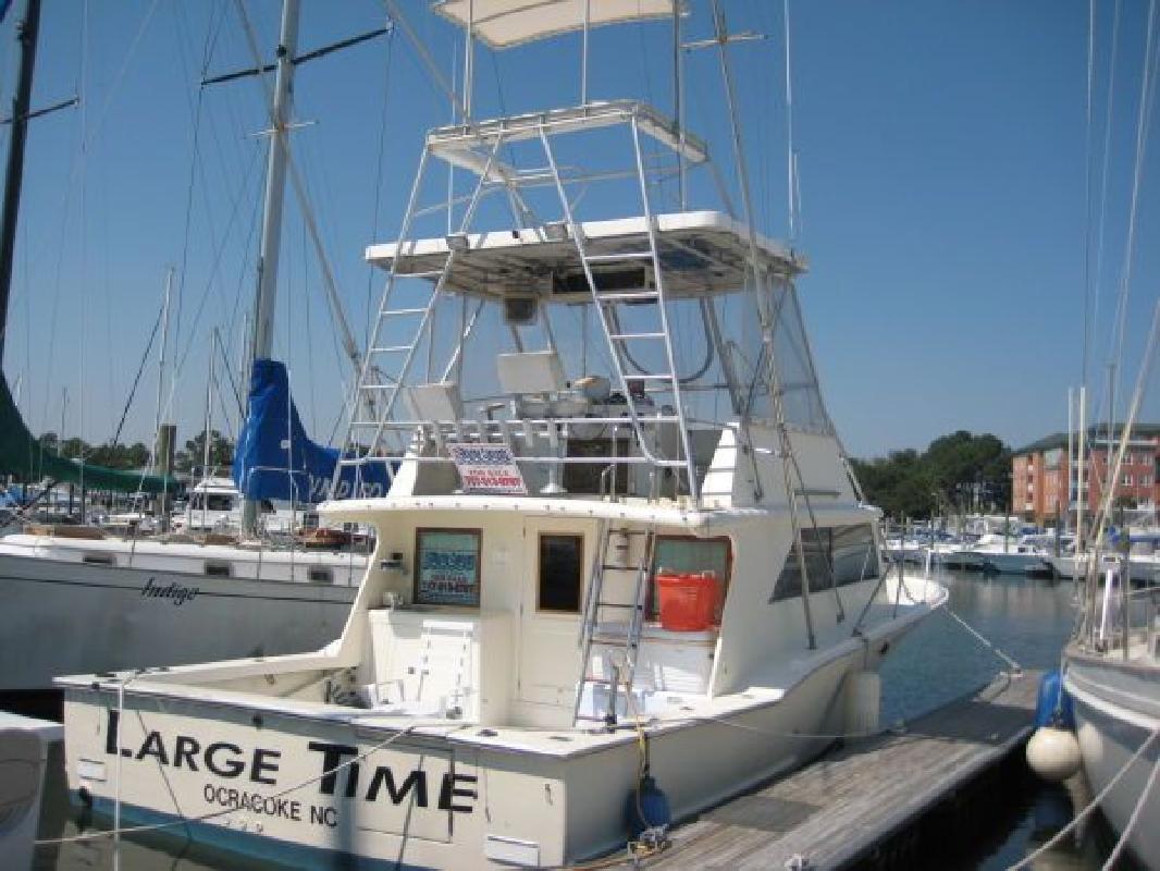 1986 38' Harkers Island Custom Convertible