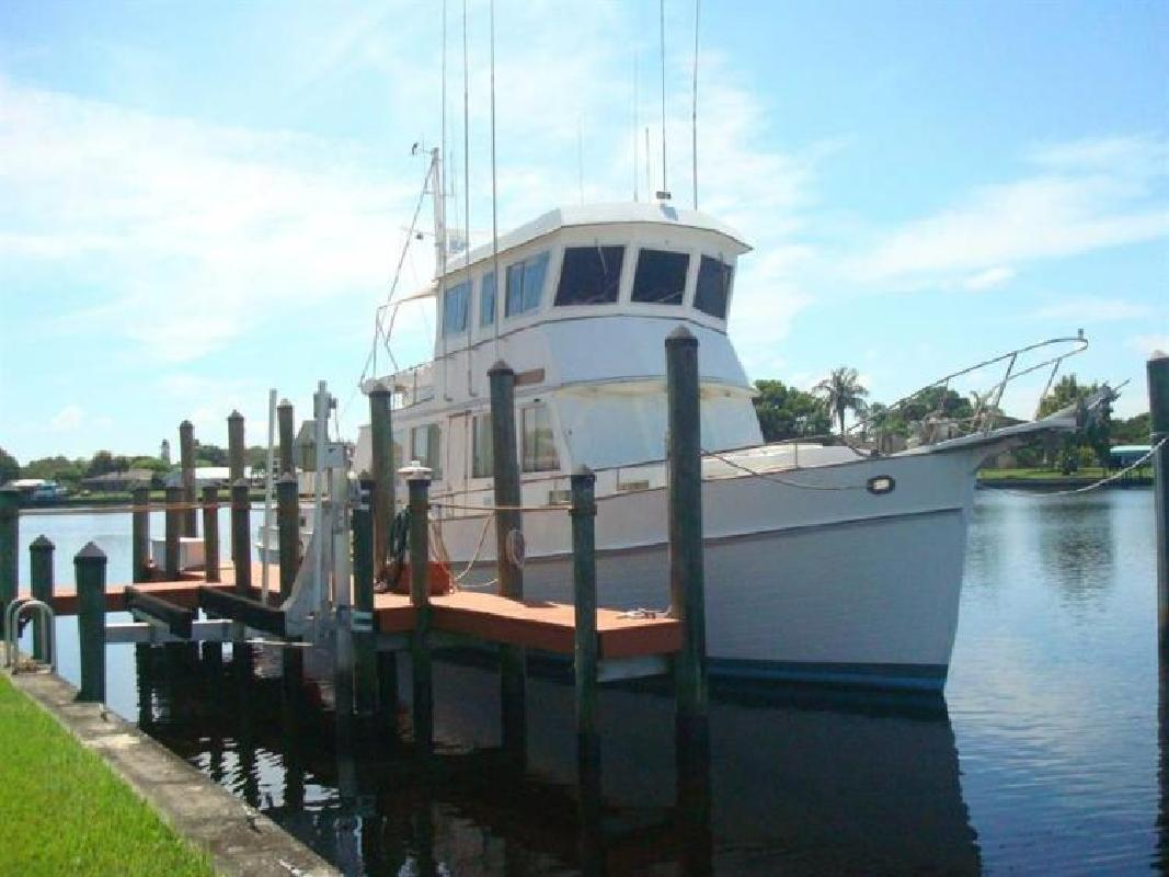 1986 GRAND BANKS 49 MY Fort Myers FL