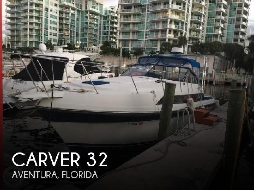 1987 Carver Yachts 32 Montego Aventura FL