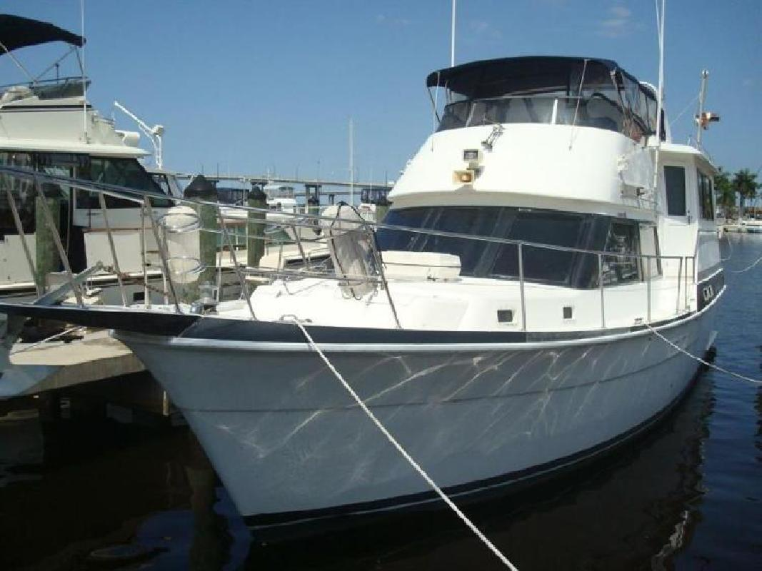 1987 GULFSTAR Aff Cabin Motor Yacht Fort Myers FL