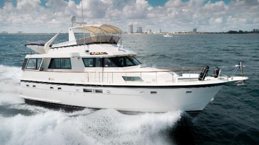 1988 Hatteras 54 Motor Yacht Fort Lauderdale FL