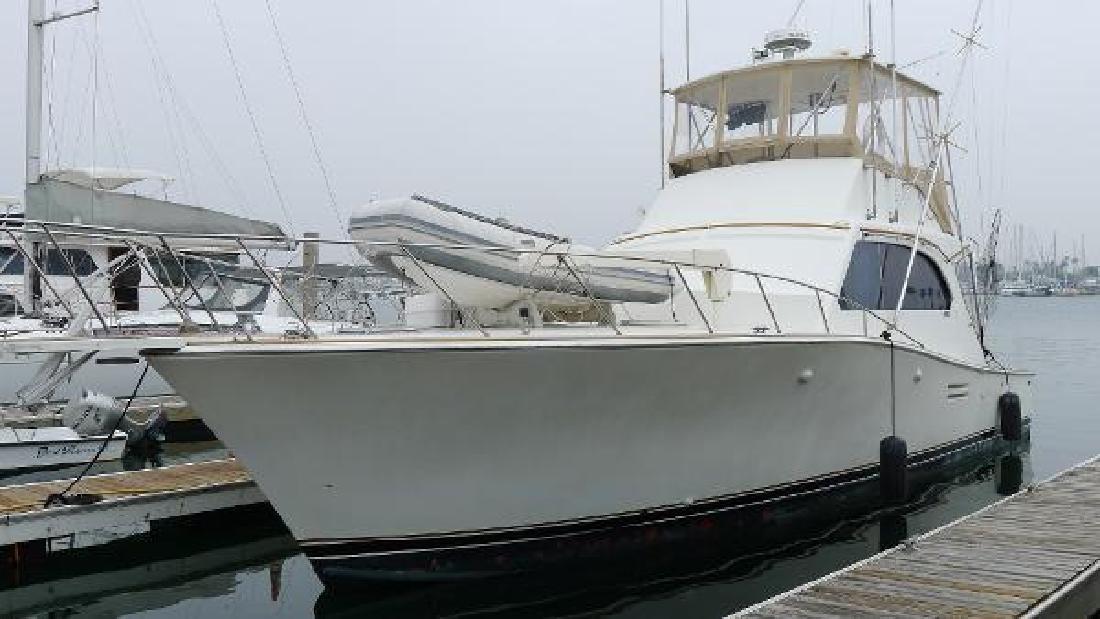 1988 Post 46 MkII Marina del Rey CA