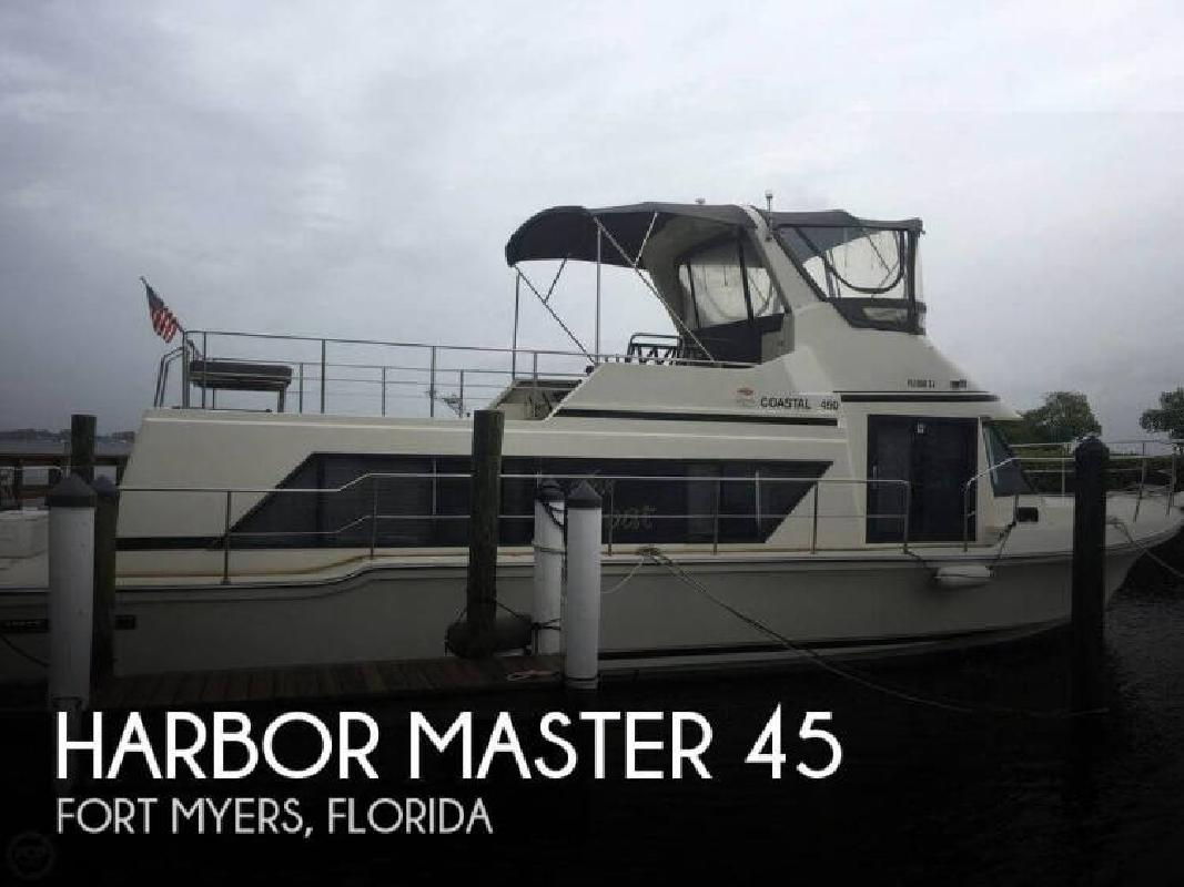 1989 Harbor Master by EMG Inc 45 Fort Myers FL
