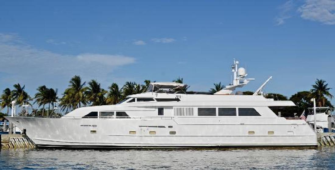 1990 Broward Raised Bridge Motor Yacht Miami FL