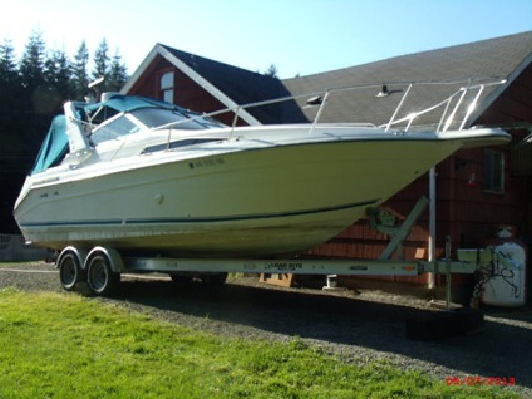 $19,900 OBO 270 searay sundancer loadrite trailer
