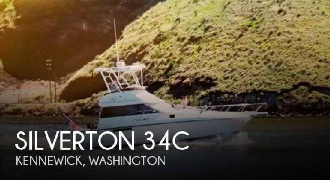 1991 Silverton Marine 34 Kennewick WA