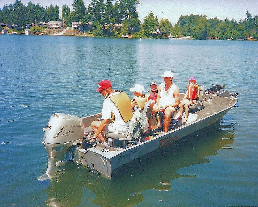 1993 16' Tuffy T160 RAMPAGE