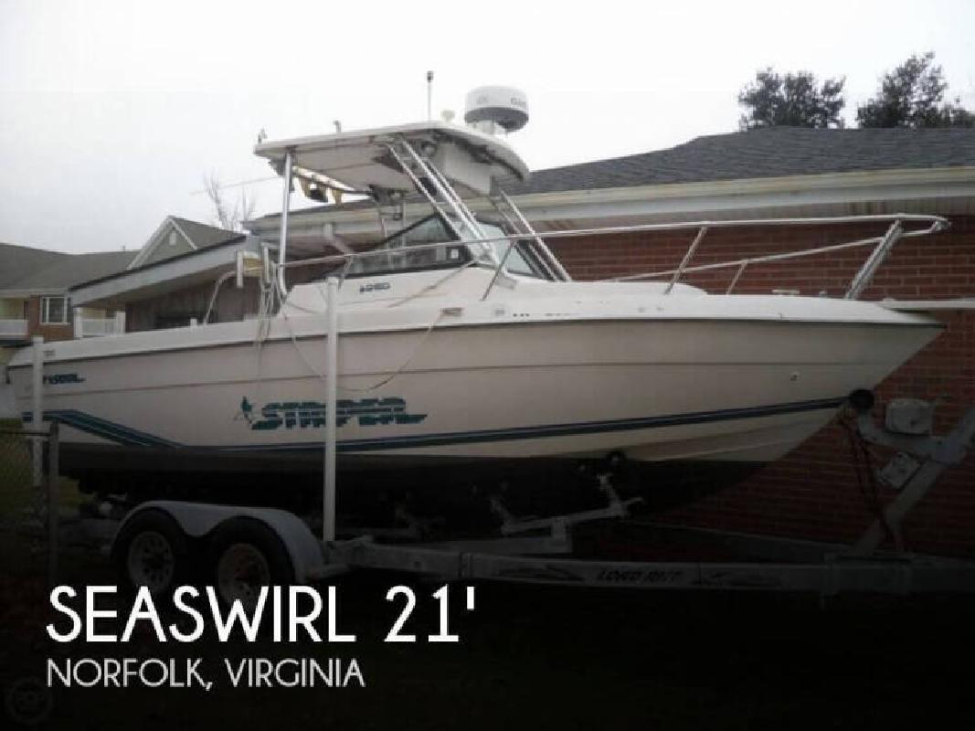 1995 Seaswirl Boats 2150 Striper Norfolk VA