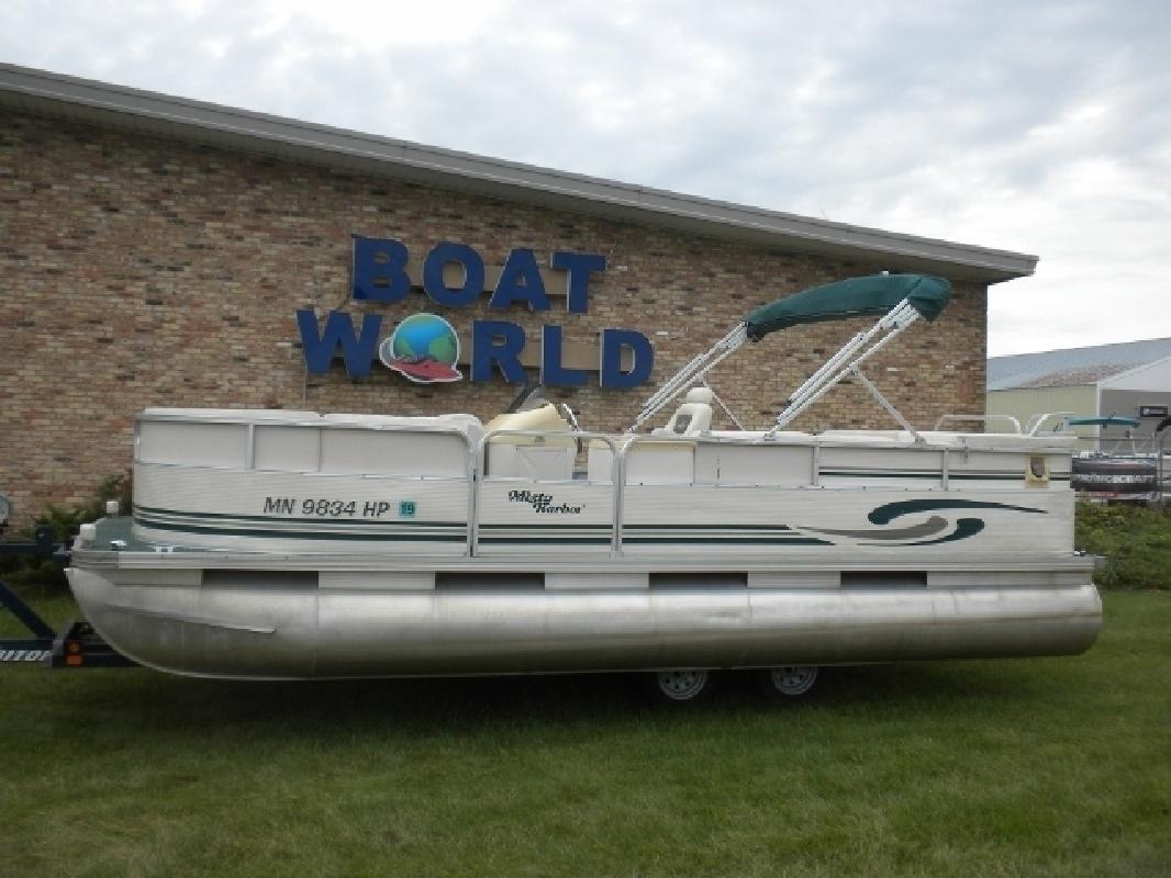 1999 Misty Harbor 20- Pontoon 40HP Honda 4-Stroke Outboard in East Bethel, MN