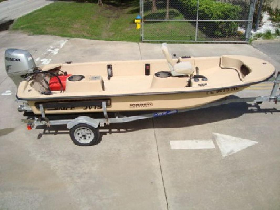 $2,000 2007 Carolina Skiff JV 15 SPORTSMAN SERIES FISHING BOAT