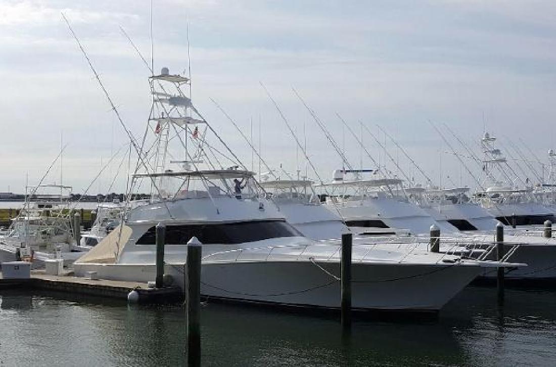 2001 Viking Yachts Convertible Somers point NJ