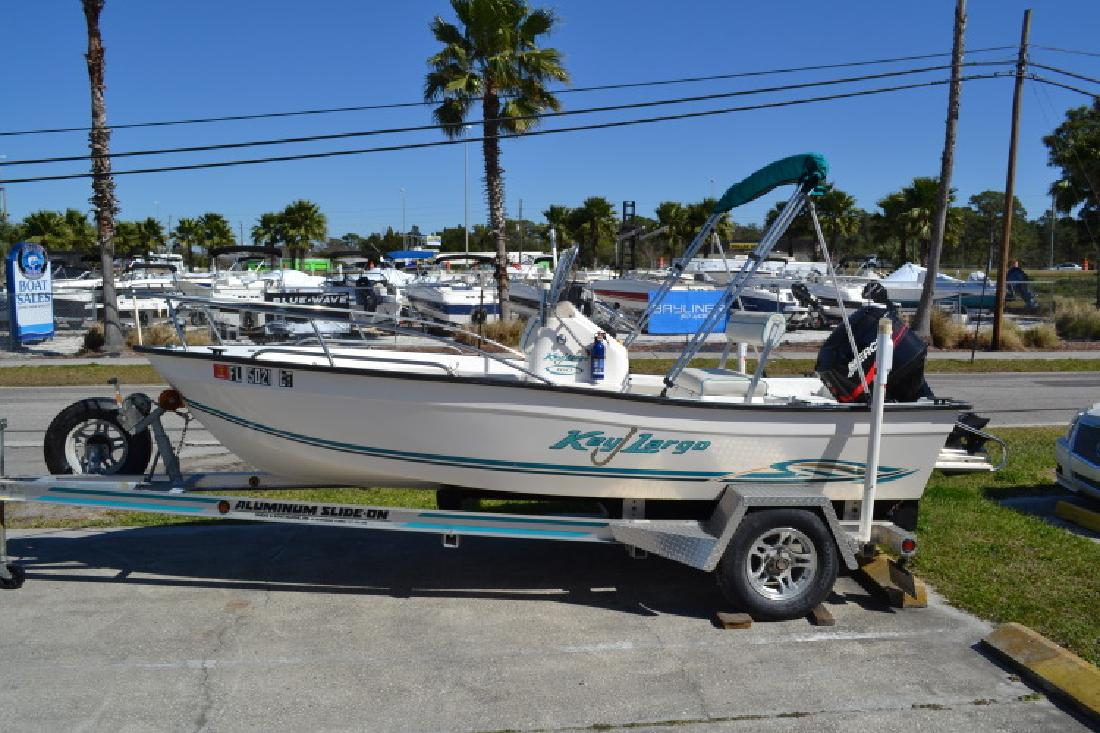 2002 - Key Largo Boats - 160 Center in Hudson, FL