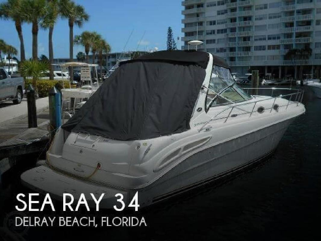 2002 Sea Ray Boats 34 Delray Beach FL