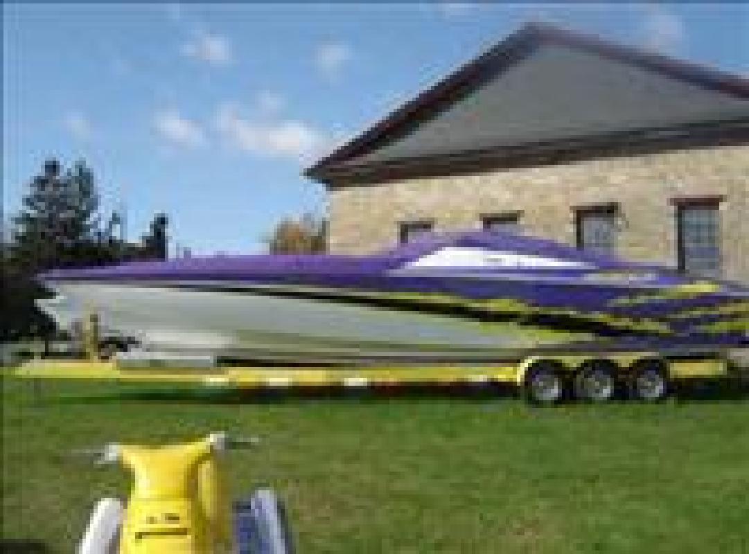 2003 36' Baja Performance Boats 36 Outlaw
