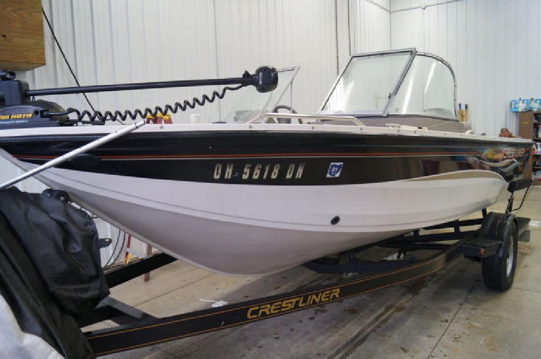 2004 Crestliner Sportfish 1850 OB in Akron, OH