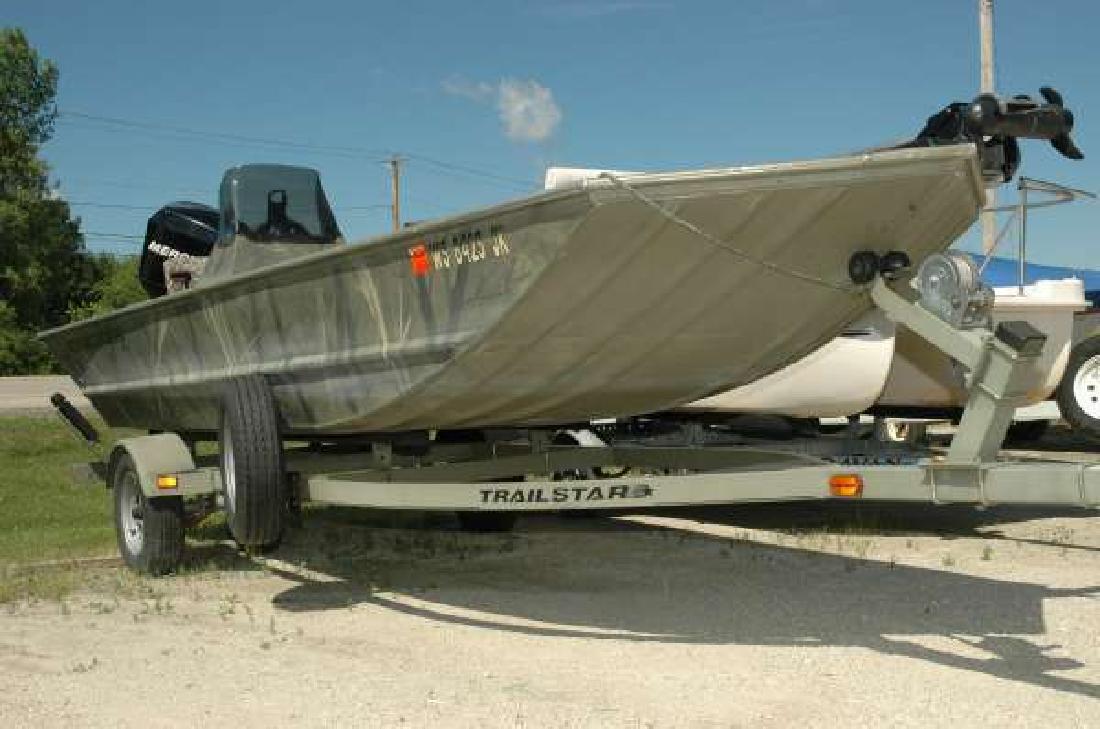 2006 TRACKER 1754 SC Fishing Wautoma WI