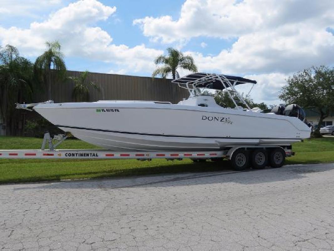 2008 Donzi 35 ZFX Cuddy Sarasota FL