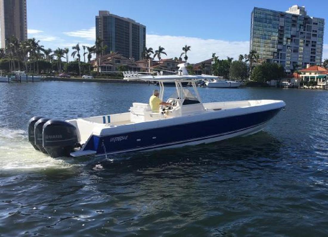 2008 Intrepid 370 NAPLES FL