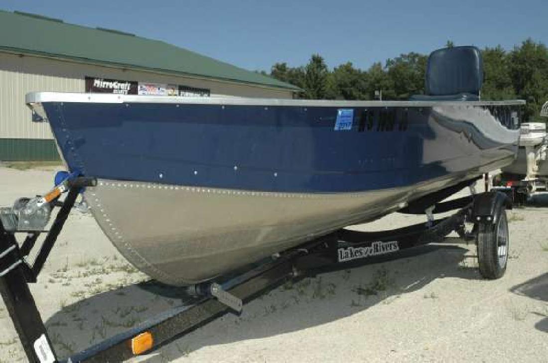 2011 MIRROCRAFT 3654 14 ft Deep Fisherman Wautoma WI