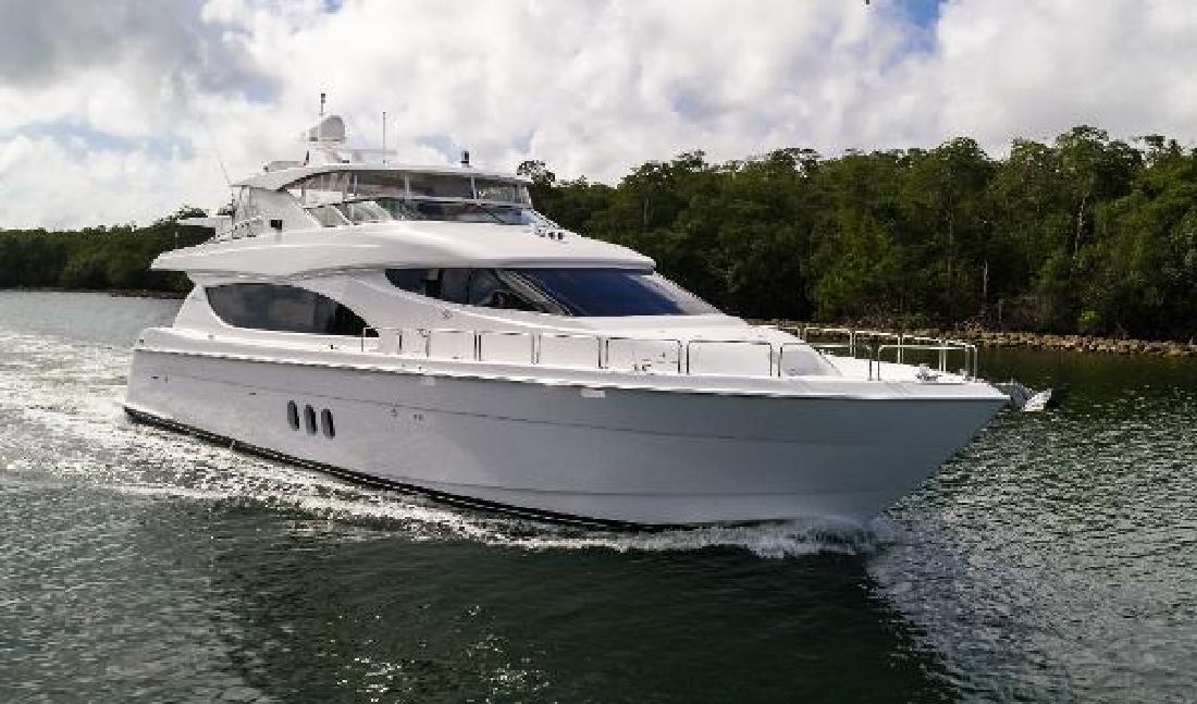 2013 Hatteras 80 Motor Yacht Aventura FL