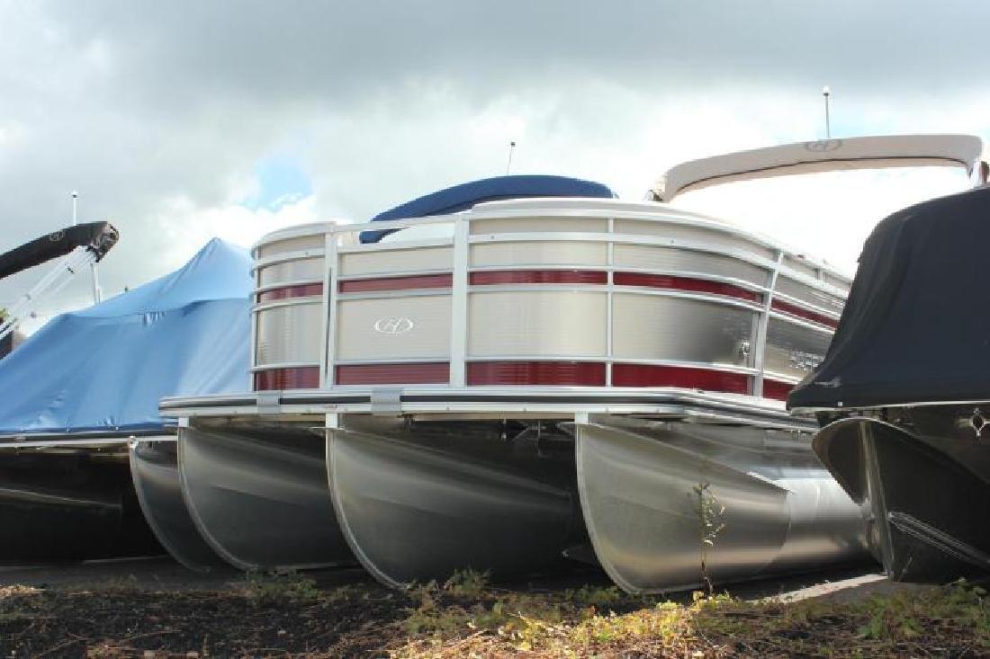 2016 Harris FloteBote 220 SUNLINER HSUN22 - 90 HP McHenry MD