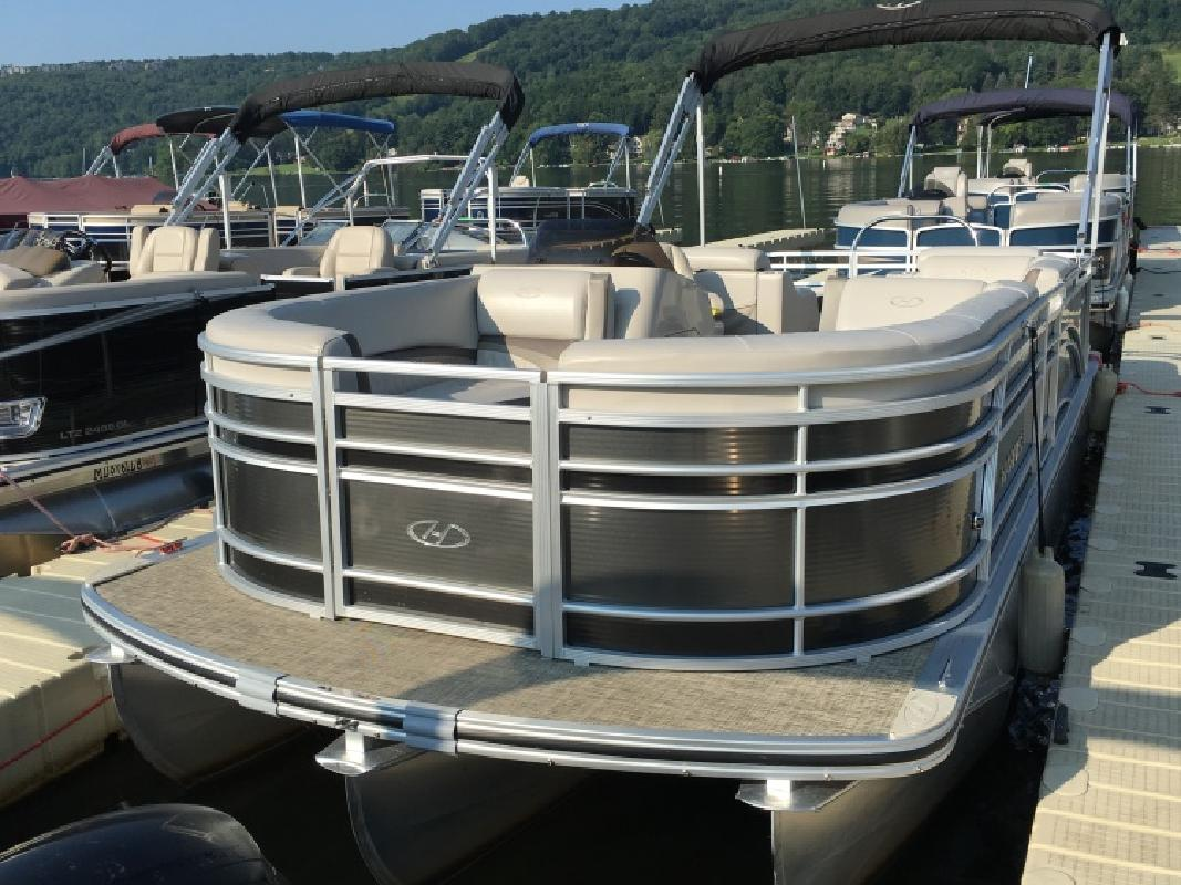 2016 Harris FloteBote HSUN22 220 SUNLINER - 90 HP McHenry MD