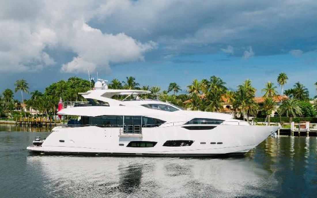 2017 Sunseeker 95 Yacht Fort Lauderdale FL