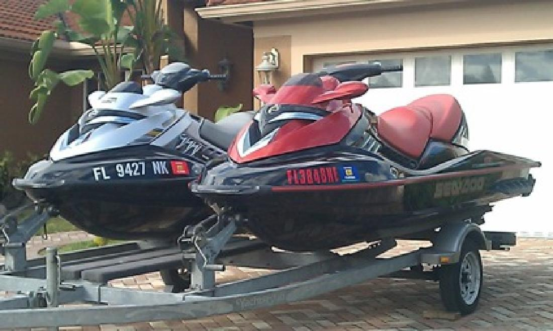$2,800 2007 & 2006 Seadoo Rxt Supercharged 215hp Jet Skis