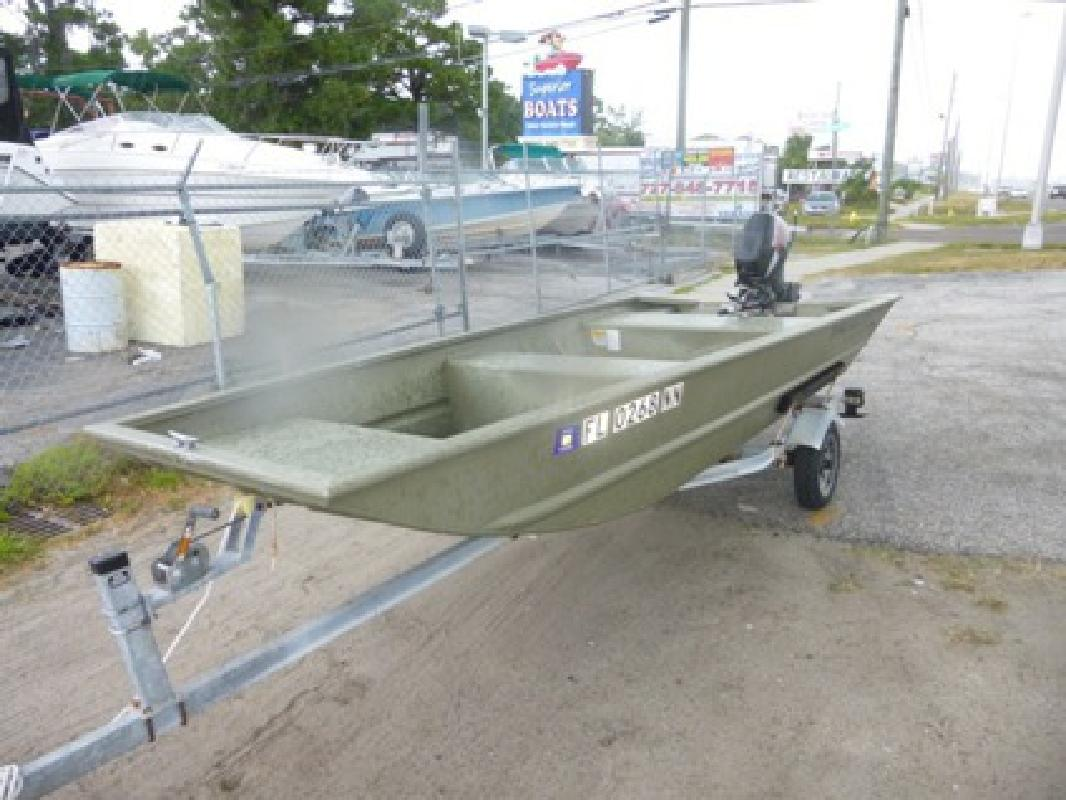 $2,995 2007 Tracker 1448 Grizzly Jon Boat