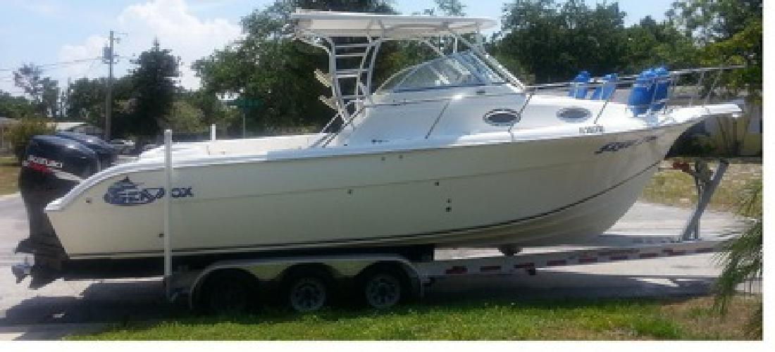 $33,000 Sea Fox 287 WA Pro Series 2006 W/ twin 200 Suzukis 2004
