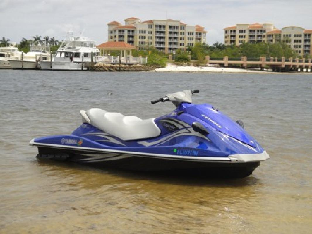4 000 jet ski 2008 yamaha vx deluxe with trailer for Yamaha jet ski covers
