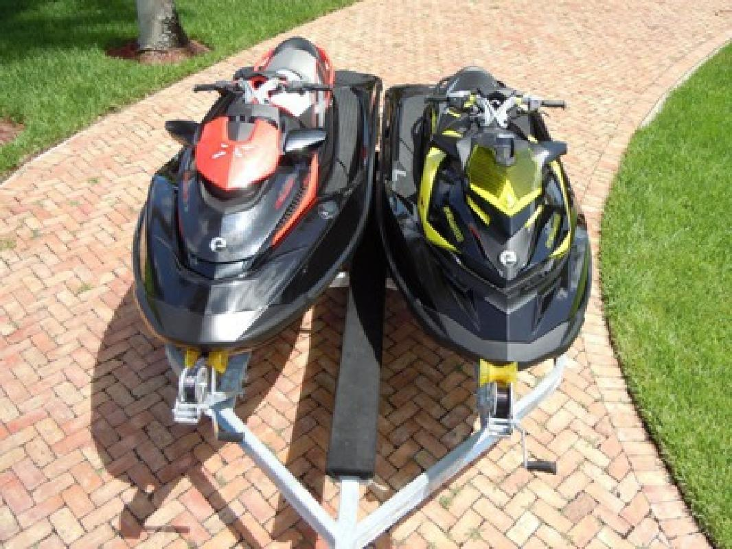 $4,507 2012 RXP-X 260 & 2010 RXT-X 260 Sea-Doo 260HP Supercharged with double trailer