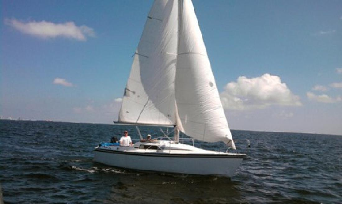 $4,900 OBO 23' Hunter Sailboat