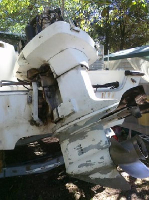 $850 OBO Johnson 150 HP V6 outboard motor for sale in Old Town
