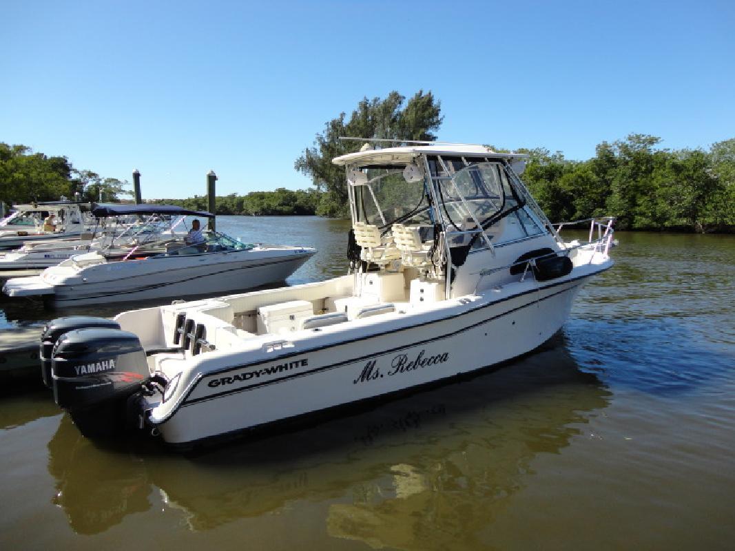 Presitine 2001 Grady-White Sailfish 282 - Twin 200 HP Yamaha in Naples, FL