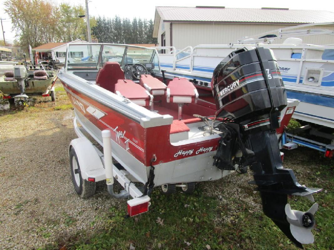 Used Lund 1650 Tyee in Wautoma, WI