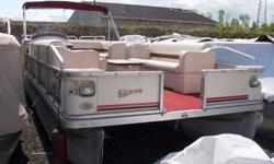 Deluxe pontoon ready for summer! This boat is powered by a Mercury 40hp EFI 4 Stroke. Boats are going fast! Don't miss it. 800-875-2620 or view Michigan's largest selection of boats direct only at www.wilsonboats.com Stock ID: 28659 Specs Length Overall