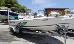 """Super Clean Garage Kept, Powered With A 115hp Suzuki 4-Stroke Outboard Motor With LOW Hours. Also Comes With Bimini Top, Lowrance X-15, VHF Radio, Trolling Motor (Plug), Bow Cushion. TRAILER INCLUDED WITH SPARE TIRE!Beam: 6' 6"""", Draft: 10"""", Fuel Tank"""